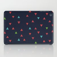 snowboarding iPad Cases featuring TRY ANGLES / snowboarding by DANIEL COULMANN