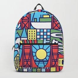 San Francisco, California Backpack