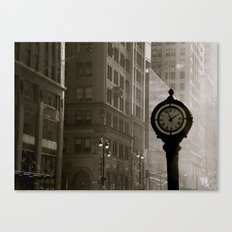 In Old New York. Canvas Print