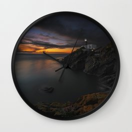 The Howth Head Light Wall Clock