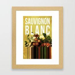 Sauvignon Blanc in Pear Framed Art Print