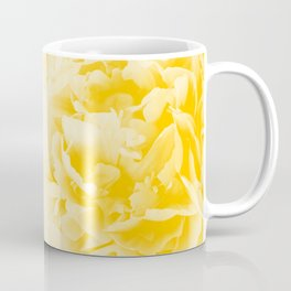 Yellow Peonies Dream #1 #floral #decor #art #society6 Coffee Mug