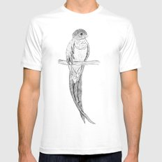 Quetzal SMALL White Mens Fitted Tee