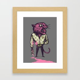 A real Hero Framed Art Print