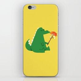 Dragon and Marshmallow iPhone Skin