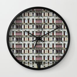 All About Italy. Venice 25 Wall Clock