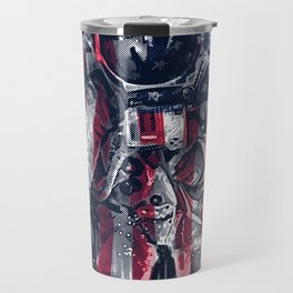 Astronaut Flag Travel Mug