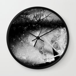 Torn Wall Clock