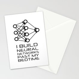 Neural Network - Machine Learning Stationery Cards