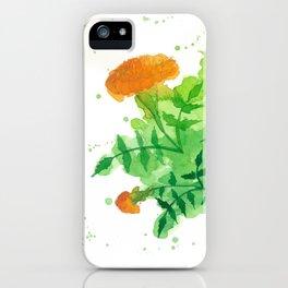 Marigold 1 iPhone Case