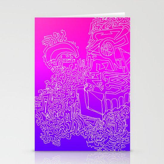 A Mazed Stationery Cards