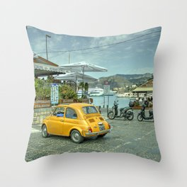 An Italian Classic Throw Pillow