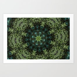"""Forest Guardians"" Mandala Art Print"