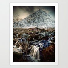 The Buachaille Etive Mor, Scotland Art Print