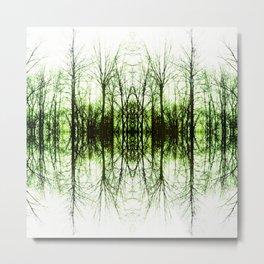 191 - Tree abstract design Metal Print