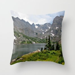Indian Peaks Wilderness, Colorado Throw Pillow