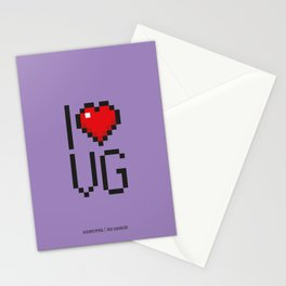 PAUSE – I Love Video Games Stationery Cards
