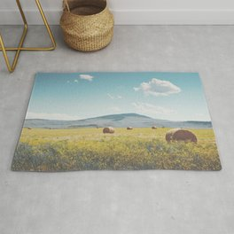 A Day in the Fields Rug