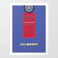 Essence of Jalopnik Art Print
