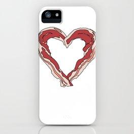 Baconlove iPhone Case
