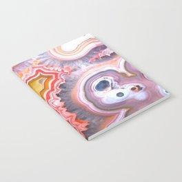 Agate Gem slice Notebook