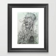 Shapes and Shadows Framed Art Print