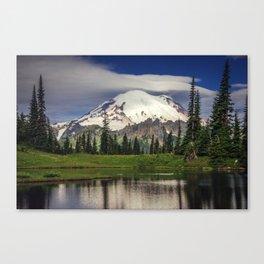 Mt Rainier in Washington Canvas Print