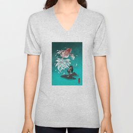Carp tattoo Unisex V-Neck