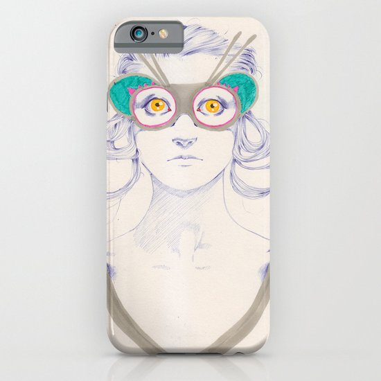 Untitled drawing iPhone & iPod Case