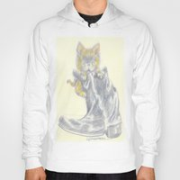mew Hoodies featuring Mew by Connie Campbell