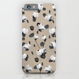 Magnolia Glam #2 #pattern #decor #art #society6 iPhone Case