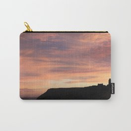 Scarborough Castle Coastal Sunrise Carry-All Pouch