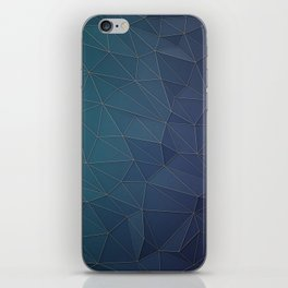 Elegant Low Poly Web iPhone Skin