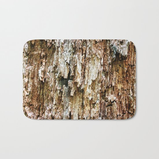 Weathered Tree  Bath Mat