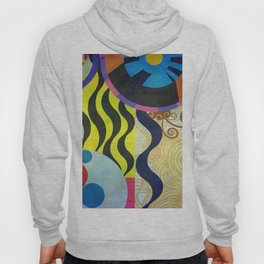Abstract Composition 416 Hoody