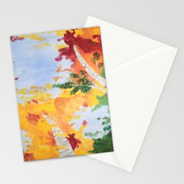 """""""Look Up North"""" - Middle Panel Stationery Cards"""