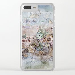 Stay Humble Clear iPhone Case