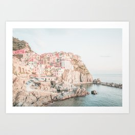 Positano, Italy Amalfi Coast Romantic Photography Art Print