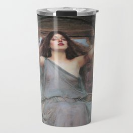 Circe Offering the Cup to Ulysses, John William Waterhouse Travel Mug