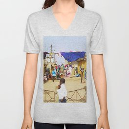 Saint Louis-02 Unisex V-Neck