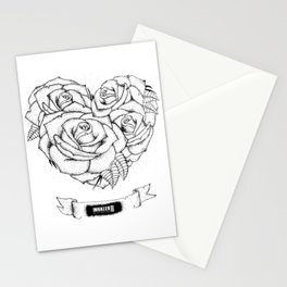 """it was written in blood"" - bmth Stationery Cards"