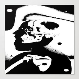 The Masks We Wear Canvas Print