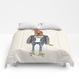 Punk Rooster Comforters
