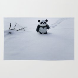 Zeke the Zen Panda Rug