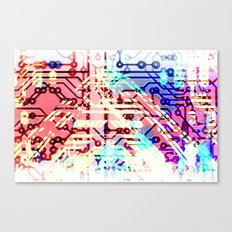circuit recognition Canvas Print