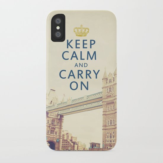 Keep Calm London iPhone Case