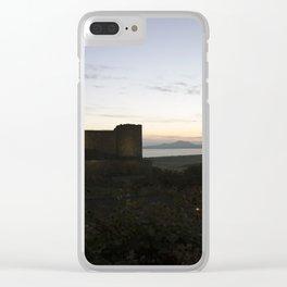 Harlech Castle Clear iPhone Case