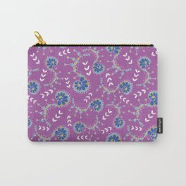 Delicate swirls Pixie Garden design Carry-All Pouch