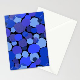 Blue Mica Stationery Cards