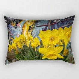 Shoreditch Daffs Rectangular Pillow